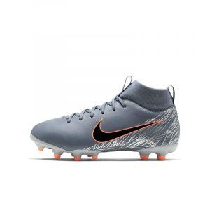 Nike Chaussure de football multi-terrainsà crampons Jr. Superfly 6 Academy MG Jeune enfant/Enfant plus âgé - Bleu - Taille 33 - Unisex