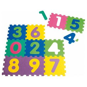 Playshoes Tapis puzzle 10 pièces