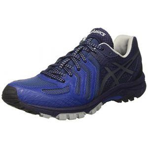 Asics Gel-FujiAttack 5, Chaussures de Running Homme, Bleu (Limoges/Black/Peacoat), 48 EU