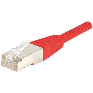 Dexlan 853943 - Cordon réseau RJ45 patch UTP Cat.5e 1 m