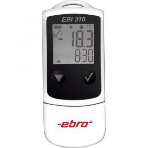 Ebro EBI 310 Enregistreur de données, enregistreur de mesure 120000, -30 à +75 °C., 0.1 °C.