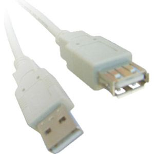 Rallonge USB 2.0 A/A mâle-femelle 5 m