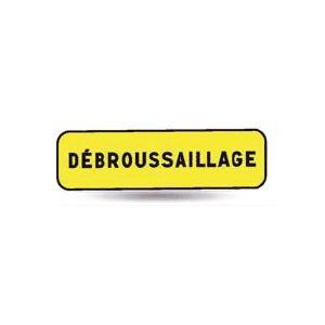 Taliaplast 525227 - Panonceau débroussaillage KM T1 900 x 250 mm