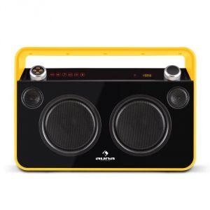 Auna Bebop Ghettoblaster - Poste stéréo Bluetooth / karaoké