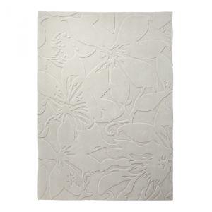 Esprit home Lily - Tapis effet 3D floral (90 x 160 cm)