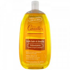 Rogé Cavaillès Huile bain et douche Veloutante huiles d'argan & amande