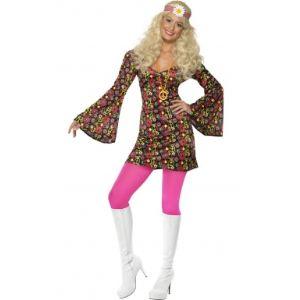 Smiffy's Déguisement hippie années 60 (taille S, M ou L)