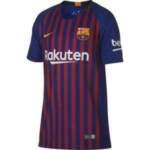 Nike Maillot de football 2018/19 FC Barcelona Stadium Home pour Enfant plus âgé - Bleu - Taille M