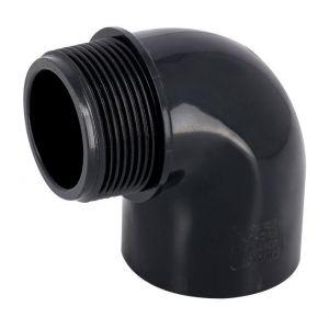 Coude 90° PVC pression mixte FM Ø32-1 - Catégorie Raccord PVC pression