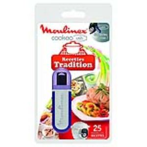 Moulinex XA600200 - Clef USB 25 recettes Tradition pour multicuiseur