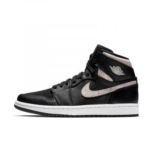 Nike Chaussure Air Jordan 1 Retro Premium pour Femme - Noir - Couleur Noir - Taille 36