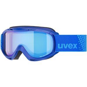 Uvex Slider FM Lunettes de protection Enfant, blue/mirror blue Masques Ski & Snowboard