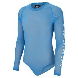 Nike Body Sportswear pour Femme - Bleu - Couleur Bleu - Taille L