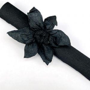 Rouleau papier crépon 10m Noir
