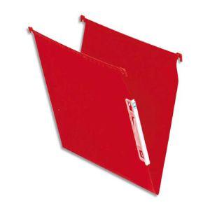 Fast Boîte de 25 dossiers suspendus Paperflow pour armoire en kraft (fond : V)