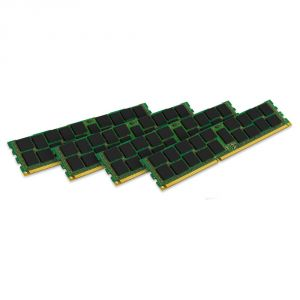 Kingston KVR18R13S4K4/32 - Barrette mémoire ValueRAM 32 Go (4x 8 Go) DDR3 1866 MHz DIMM 240 broches