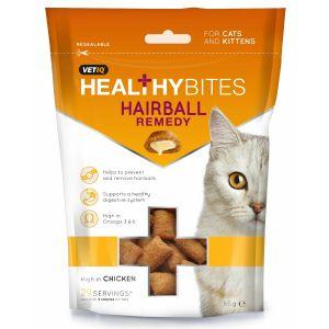 Vetiq Healthy Bites Hairball Remedy Cat Treats 65g