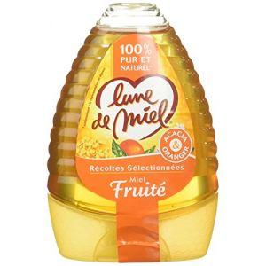 Lune de miel Les Pratiques Les Récoltes Sélectionnées Miel Fruite Doseur 340 g