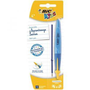 Bic Stylo-bille d'apprentissage avec recharge d'encre bleue