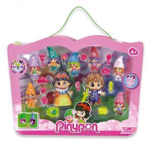 Famosa PinyPon : Blanche Neige et les 7 Elfes avec Prince