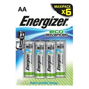Energizer 6 piles AA (LR06) EcoAdvanced
