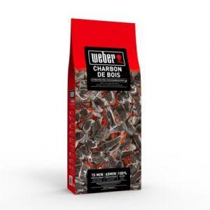 Weber 17630 - Sac de 10 kg de charbon de bois solide
