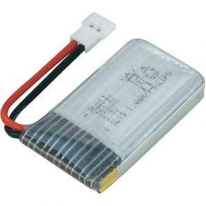 Hubsan Batterie d'accumulateurs (LiPo) 3.7 V 380 mAh H107-a24 cosse plate