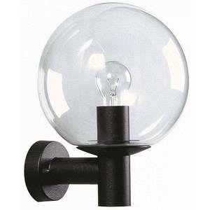 Albert Leuchten Applique d'extérieur en verre noire