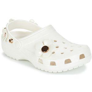 Crocs Sabots CLASSIC METALLIC BLOOMS CLOG blanc - Taille 36 / 37,38 / 39,37 / 38