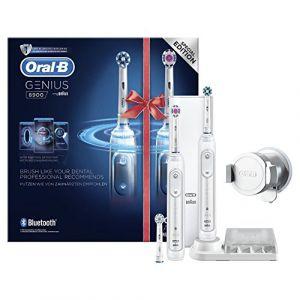 Braun Oral-B Genius 8900 Brosse à Dents Électrique avec 2ème Manche