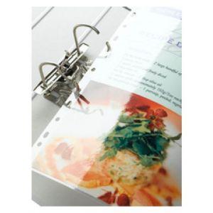 Fellowes 5452502 - Boîte de 100 pochettes Enhance80, format 228x303mm perforé, 2 x 80µ