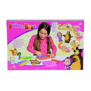Simba Toys Pâte à modeler Masha et l'ours