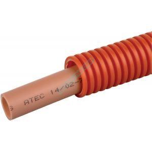 Acome Tube PER sous fourreau rouge 13X16 couronne de 100M 729807-C100