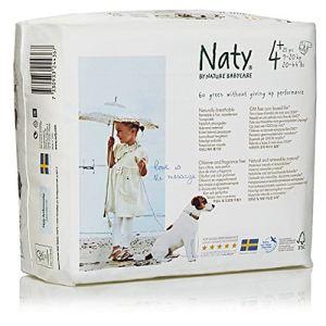 Naty Couche Naty taille 4+ Maxi Plus (9-20 kg) - paquet de 30