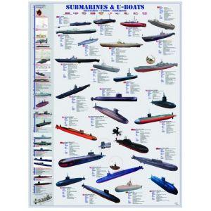 Eurographics Puzzle Sous-marins 1000 pièces
