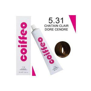 Coiffeo 5.31 Châtain clair doré cendré - Coloration professionnelle
