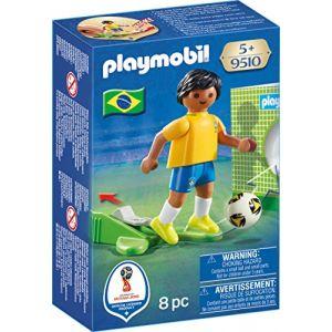 Playmobil 9510 - Coupe du Monde de la FIFA Russie 2018 - Joueur de foot Brésilien