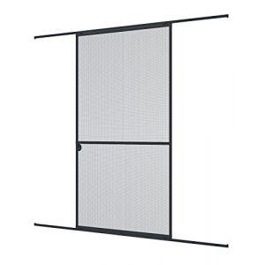 Windhager Moustiquaire pour porte coulissante 120x240cm anthracite