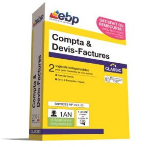 Compta & Devis-Factures Classic 2017 + VIP + offre Satisfait ou remboursé pour Windows