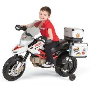 Peg Perego Moto Ducati Enfant Hypermotard Cross 12 volts