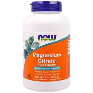 Now Foods Citrate de magnésium