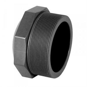 Centrocom Bouchon PVC pression à visser M 3/4 - Catégorie Raccord PVC pression