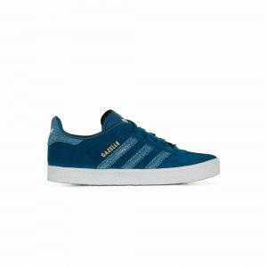 Adidas Originals Gazelle C - Baskets en cuir - bleu foncé