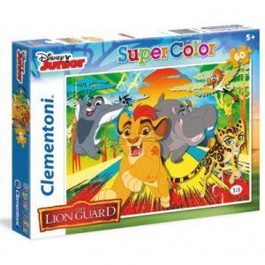 Clementoni Puzzle La garde du Roi Lion Epic Roar 60 pièces