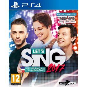 Let'S Sing 2017 : Hits Français et Internationaux [PS4]