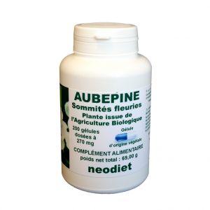Neodiet Gélules d'aubépine bio en boite de 200 unités