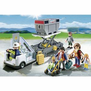 Playmobil 5262 City Action - Passerelle d'embarquement avec passagers