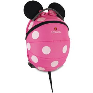 LittleLife Sac à dos Disney Kids Minnie rose