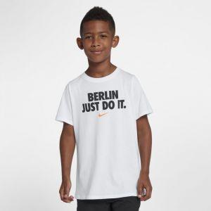 Nike Tee-shirt JDI Sportswear Garçon - Blanc - Taille Male