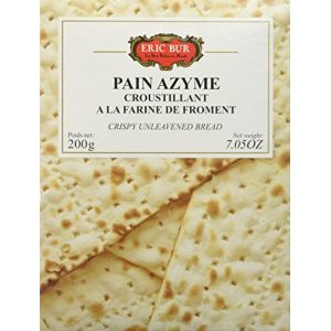 Eric Bur Pain Azyme au Froment 200 g - Lot de 4